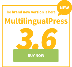 MultilingualPress 3.6