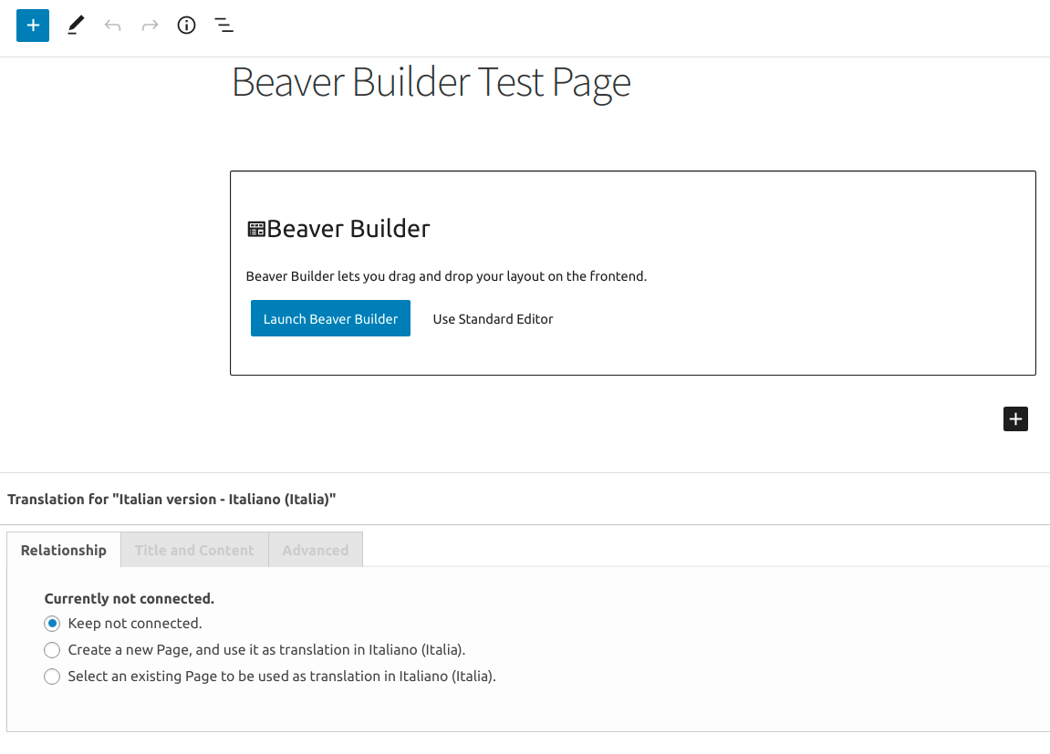 Beaver Builder Test Page